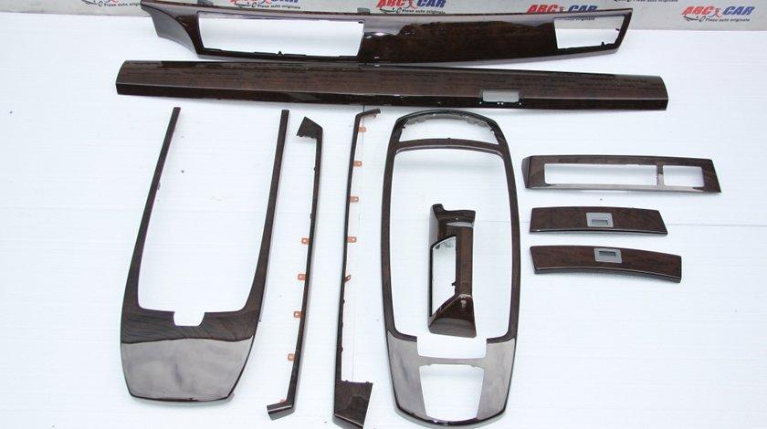 Set ornamente mahon interior BMW Seria 7 E65 cod: 4775607308F1 model 2006