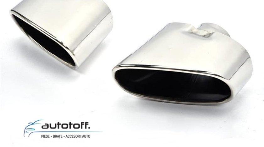 Set ornamente pentru toba BMW X5 E70 LCI (10-13) - INOX