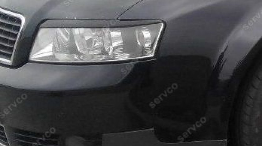Set ornamente pleoape faruri Audi A4 B6 S4 RS4 S line 8E 8H SUS 2001-2005 v2