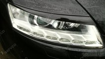 Set ornamente pleoape faruri Audi A6 C6 4F GRP S6 ...