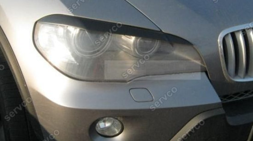 Set ornamente pleoape faruri BMW E70 X5 ABS