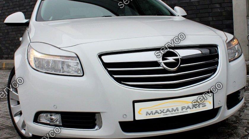 Set ornamente pleoape faruri Opel Insignia A Mk1 2008-2013 NFL ver1