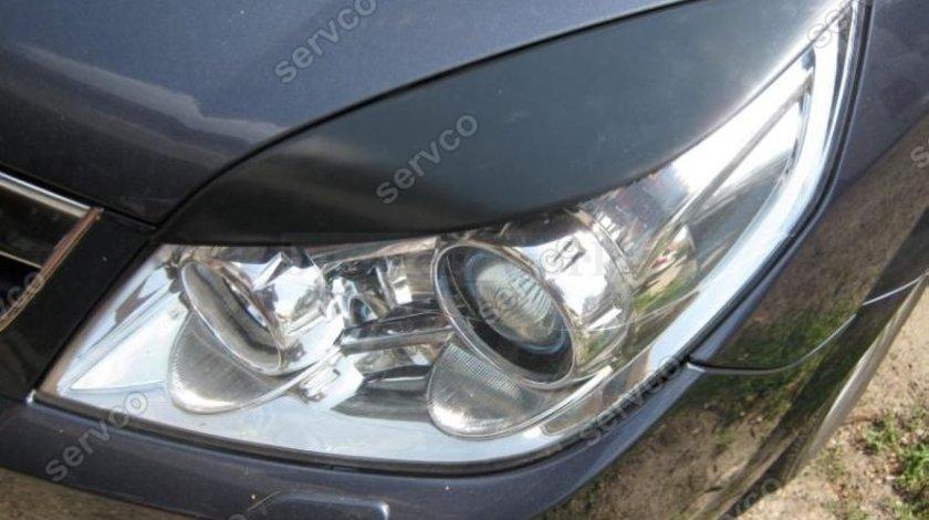 Set ornamente pleoape faruri Opel Vectra C plastic ABS 2005-2008 ver4