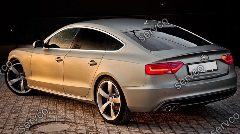 Set ornamente praguri laterale Audi A5 Sportback S5 RS5 Sline 2009-2015 v1