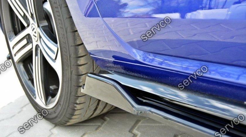 Set ornamente praguri laterale Volkswagen Golf 7 Mk VII R Facelift 2017-2019 v6