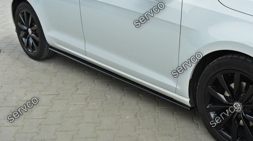 Set ornamente praguri laterale Volkswagen Golf 7 Mk VII 2012-2016 v1