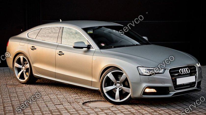 Set ornamente Sline praguri laterale Audi A5 Sportback S5 RS5 S-line 2009-2012 v1