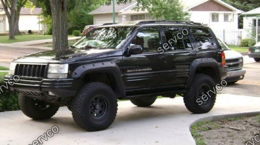 Set ornamente wide body evazari aripi overfender wheel arc Jeep Cherokee ZJ 1993-2000 ver1