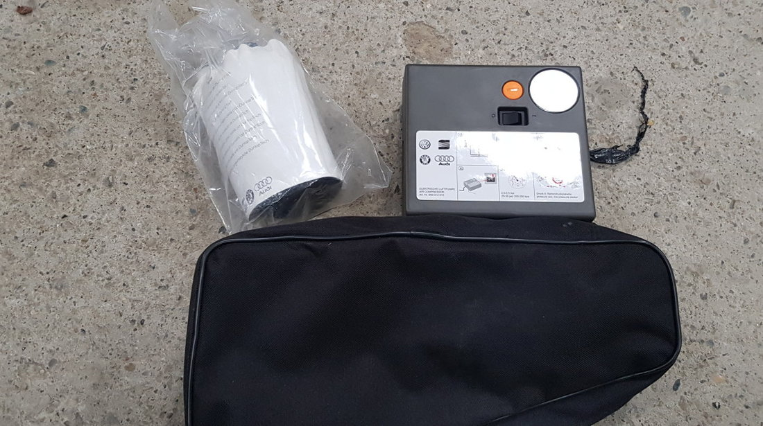 Set pana Compresor roti cu spuma Skoda Octavia 3 2013 2014 2015