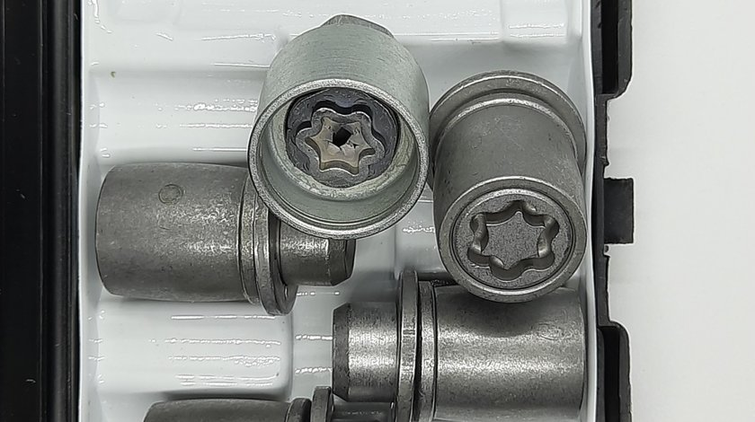 Set piulite antifurt Starlock M12x1.5 pentru Jaguar