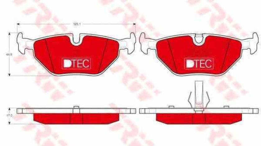 Set placute de frana BMW 3 Compact E46 TRW GDB1344DTE