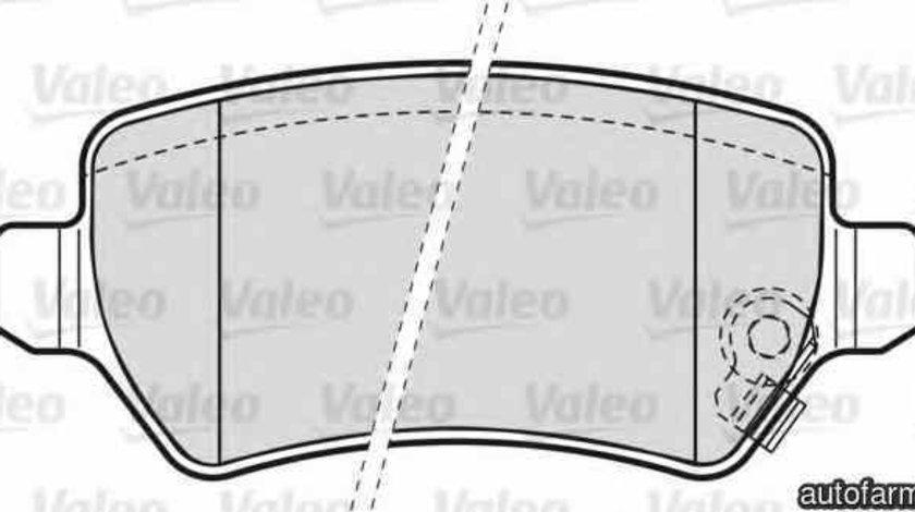 Set placute de frana OPEL ASTRA F CLASSIC limuzina VALEO 598584