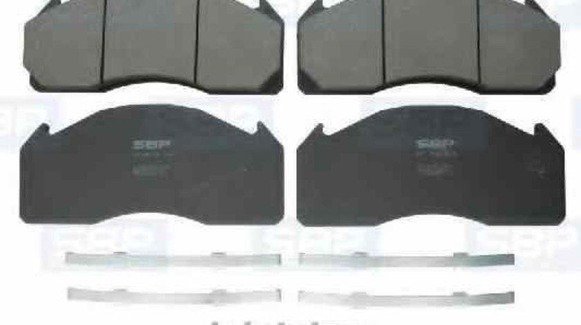 Set placute de frana Producator SBP 07-P29125