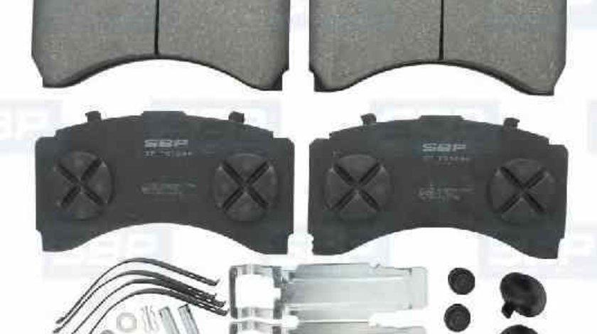 Set placute de frana Producator SBP 07-P29244