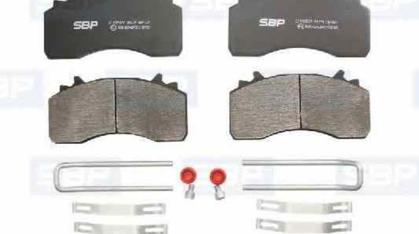 Set placute de frana Producator SBP 07-P29279