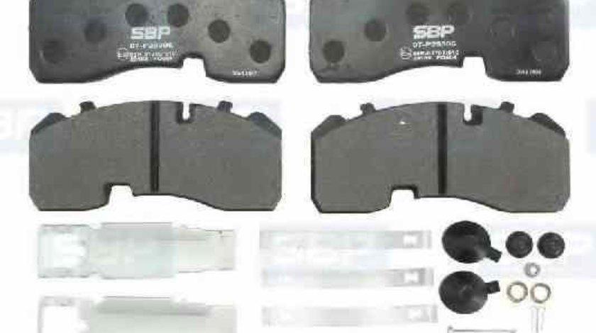 Set placute de frana Producator SBP 07-P29306