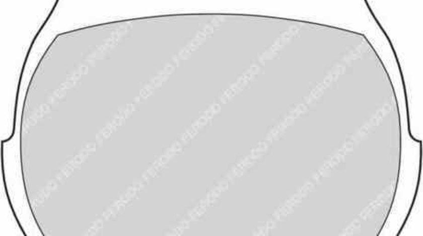 Set placute de frana ROVER MINI FERODO FDB824