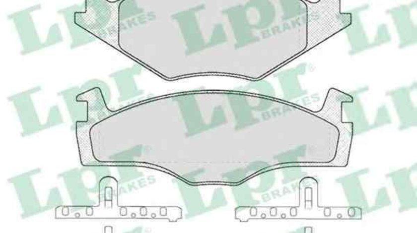Set placute de frana VW GOLF I (17) LPR 05P224