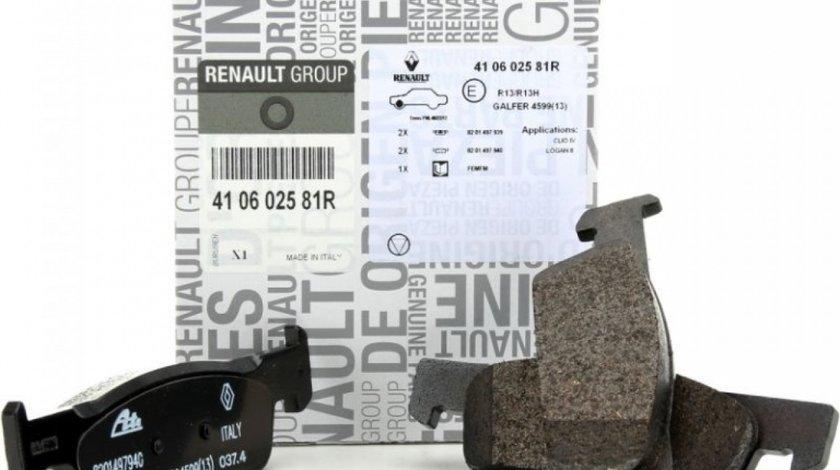Set Placute Frana Dacia Logan 2 2012→ 410602581R