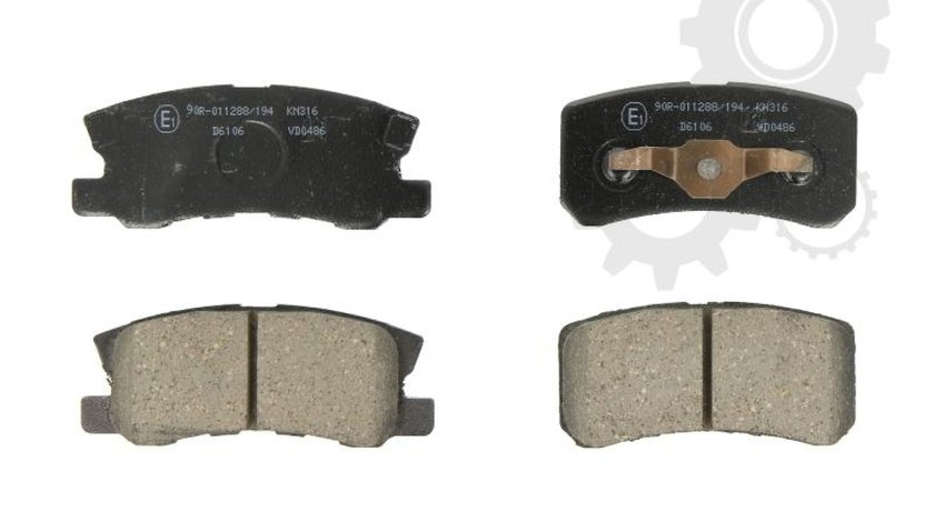 Set placute frana disc CITROËN C-CROSSER ENTERPRISE Producator KASHIYAMA C25010