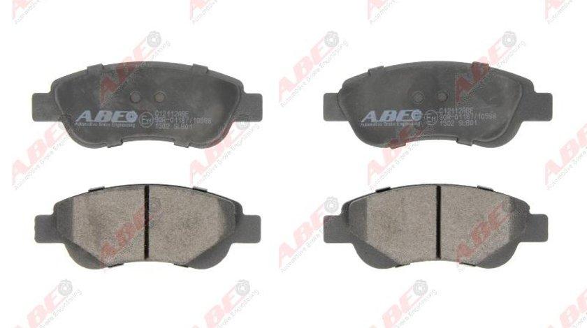 set placute frana disc CITROËN C1 II Producator ABE C12112ABE