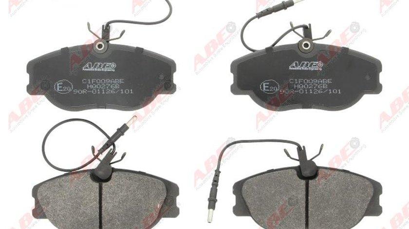 Set placute frana disc CITROËN JUMPY platforma / podwozie BU BV BW BX Producator ABE C1F009ABE