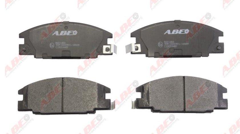 Set placute frana disc ISUZU TROOPER samochód terenowy otwarty UBS Producator ABE C19004ABE