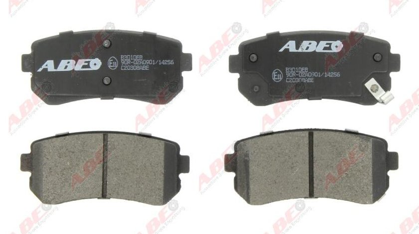 Set placute frana disc KIA CEE'D Producator ABE C20308ABE