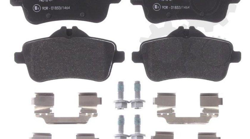 set placute frana disc MERCEDES-BENZ KLASA A W176 Producator TEXTAR 2521501