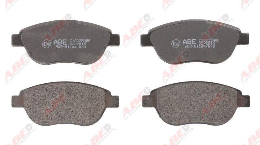 Set placute frana disc PEUGEOT 307 SW 3H Producator ABE C1C035ABE