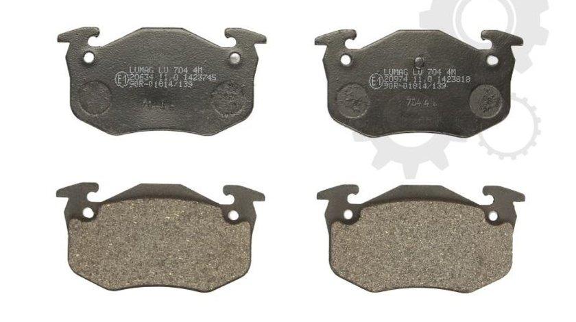 set placute frana disc RENAULT MEGANE I Cabriolet EA0/1 Producator BRECK 20973 00 704 00