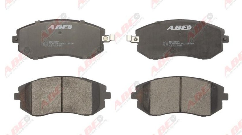 set placute frana disc SUZUKI GRAND VITARA II JT Producator ABE C17013ABE