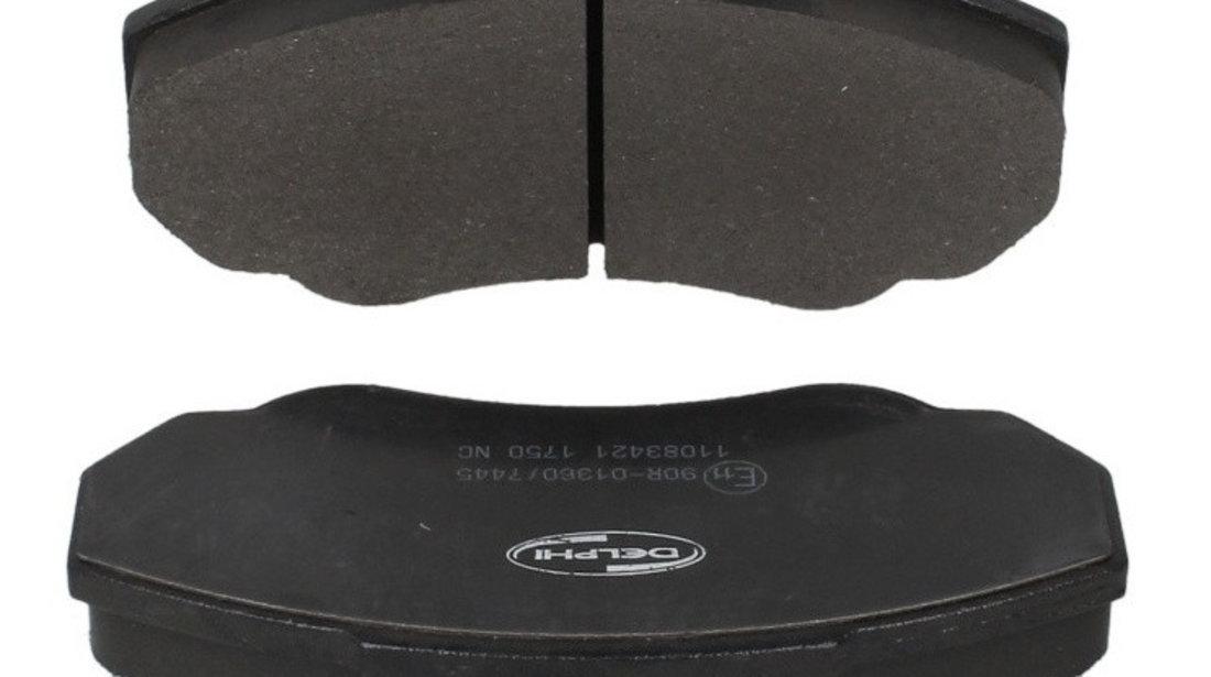 Set Placute Frana Fata Delphi Citroen Jumper 1 1994-2006 LP1750