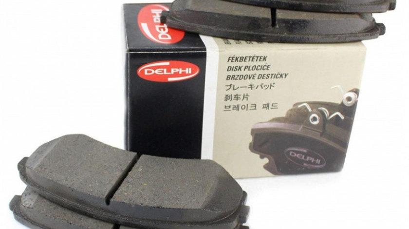 Set Placute Frana Fata Delphi Peugeot Boxer 1, 2 1994-2006 LP1750