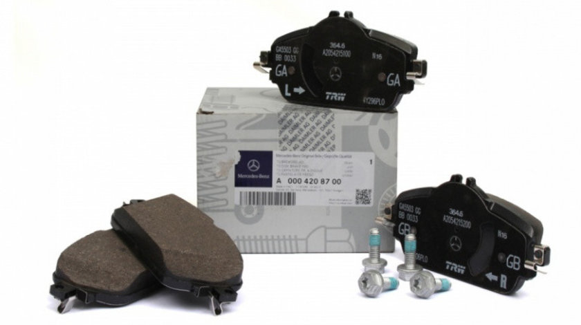 Set Placute Frana Fata Oe Mercedes-Benz C-Class W205 2014→ A0004208700