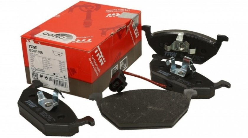 Set Placute Frana Fata Trw Seat Leon 1M1 1999-2006 GDB1386