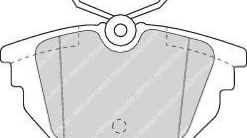 Set placute frana,frana disc ALFA ROMEO 146 (930) (1994 - 2001) FERODO FDB1113 produs NOU