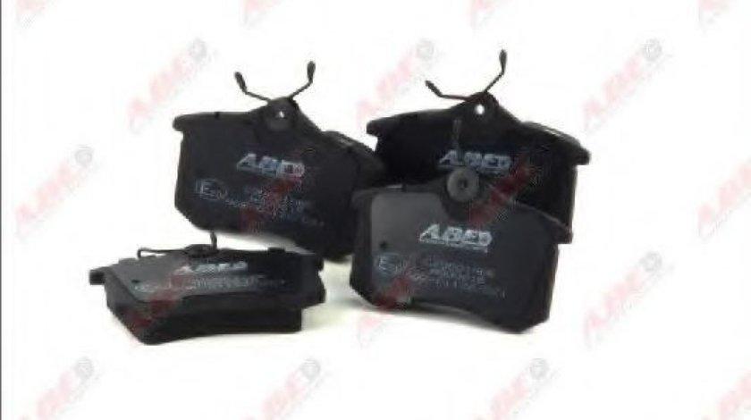 Set placute frana,frana disc AUDI A4 Cabriolet (8H7, B6, 8HE, B7) (2002 - 2009) ABE C2W001ABE produs NOU