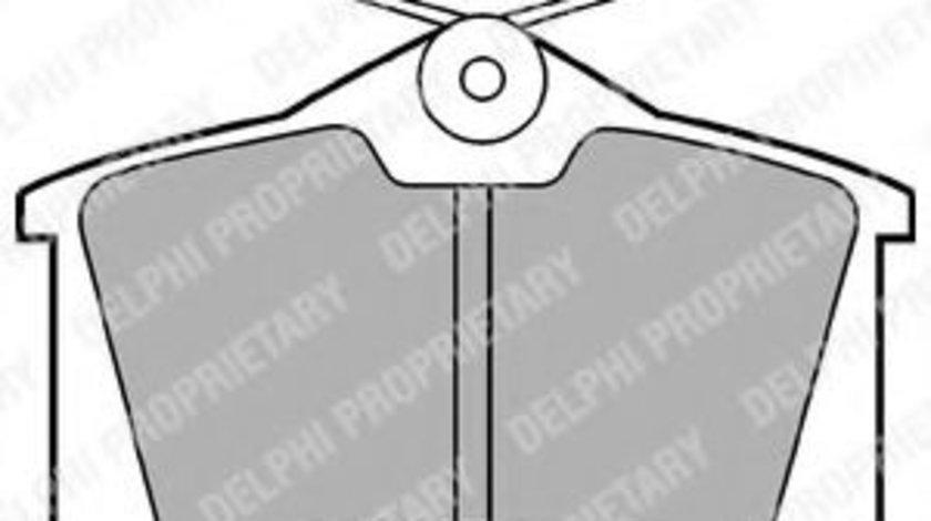 Set placute frana,frana disc AUDI A6 Avant (4B5, C5) (1997 - 2005) DELPHI LP565 produs NOU