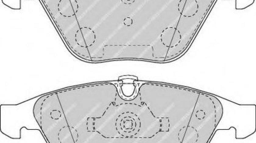 Set placute frana,frana disc BMW Seria 3 (E90) (2005 - 2011) FERODO FDB4191 piesa NOUA
