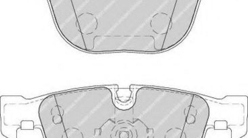 Set placute frana,frana disc BMW Seria 3 (E90) (2005 - 2011) FERODO FDB1672 piesa NOUA
