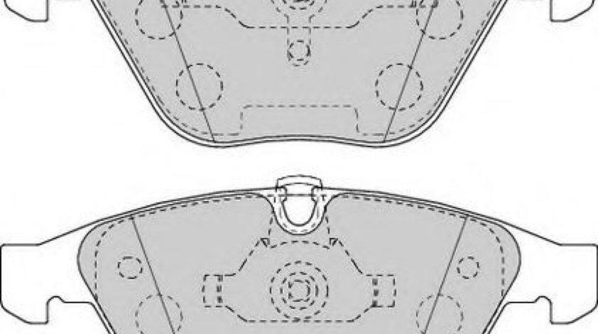 Set placute frana,frana disc BMW Seria 3 (E90) (2005 - 2011) FERODO FDB1628 piesa NOUA