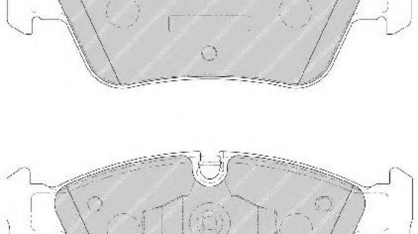 Set placute frana,frana disc BMW Seria 3 (E90) (2005 - 2011) FERODO FDB1751 piesa NOUA