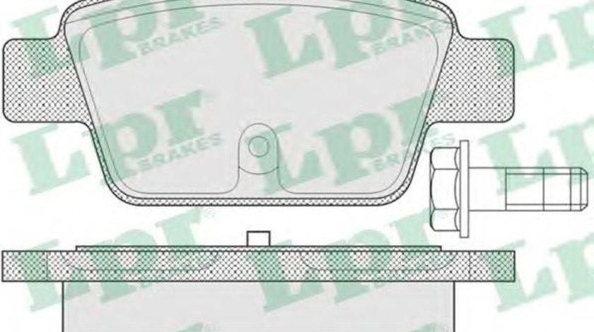 Set placute frana,frana disc FIAT STILO (192) (2001 - 2010) LPR 05P780 piesa NOUA