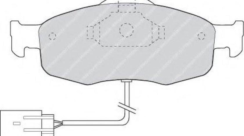 Set placute frana,frana disc FORD MONDEO II (BAP) (1996 - 2000) FERODO FDB766 produs NOU