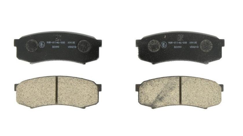 Set placute frana,frana disc HYUNDAI COUPE (RD) (1996 - 2002) ITN 16-BP1285 piesa NOUA