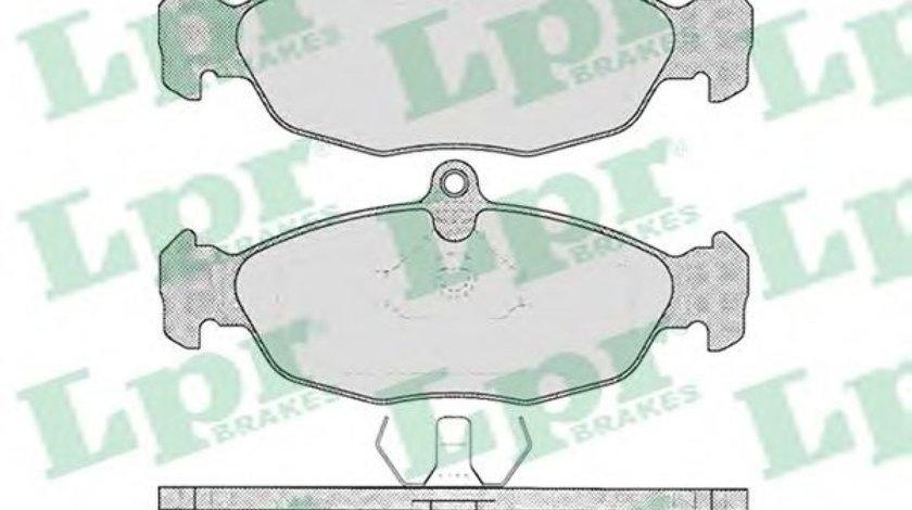 Set placute frana,frana disc OPEL TIGRA (95) (1994 - 2000) LPR 05P599 - produs NOU