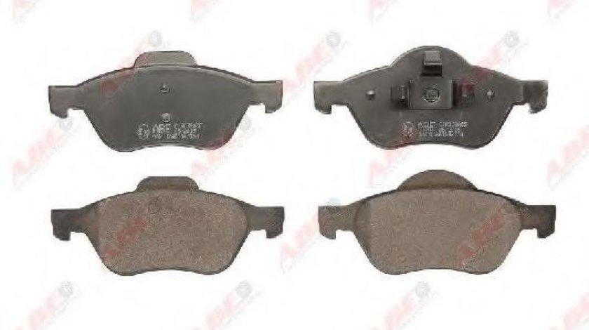 Set placute frana,frana disc RENAULT CLIO III (BR0/1, CR0/1) (2005 - 2012) ABE C1R038ABE produs NOU