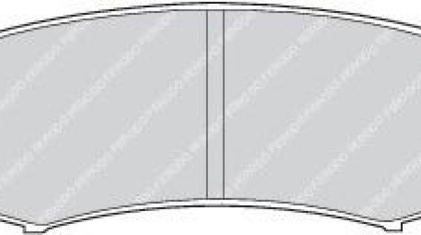 Set placute frana,frana disc TOYOTA LAND CRUISER 150 (KDJ15, GRJ15) (2009 - 2016) FERODO FDB1021 piesa NOUA