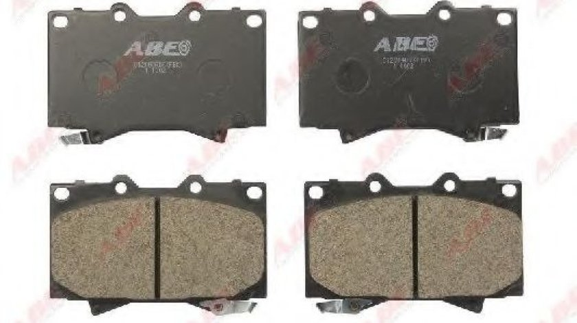 Set placute frana,frana disc TOYOTA LAND CRUISER AMAZON (FZJ1, UZJ1) (1998 - 2007) ABE C12088ABE piesa NOUA